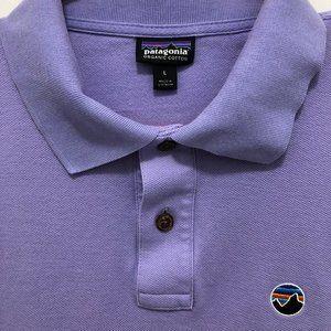 PATAGONIA Purple Polo Golf Shirt